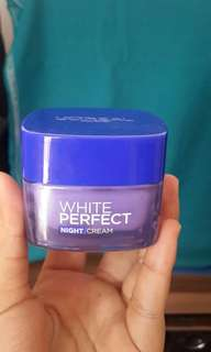 Loreal White Perfect - Night Cream