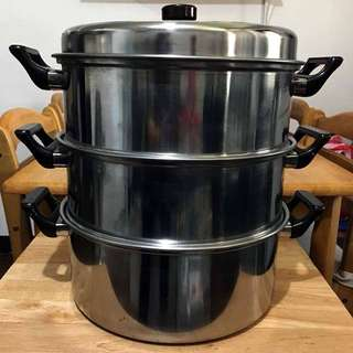 3 Layers Stainless Steel Steamer