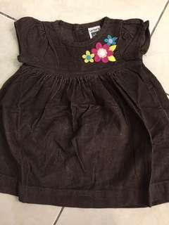 CARTER NEWBORN DRESS