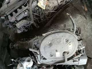 Mercedes w126 s300 completes engine gearbox