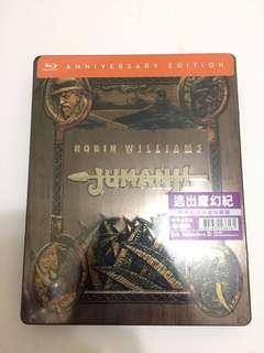 逃出魔幻紀 Jumanji (鐵盒版)Blu-ray