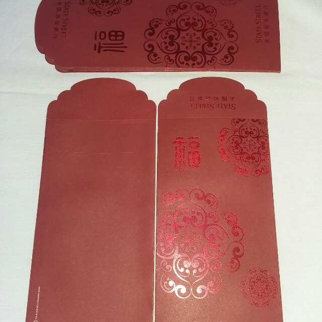 10 pcs *State Street* 2014 Red Packet / Ang Pow / Hong Bao / Ang Pao