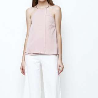 Imey top dusty pink