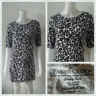 Faded Glory Leopard Dress