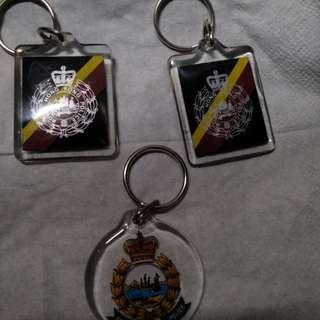 皇家香港警察锁匙扣