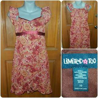 Limited Too Floral Summer Dress