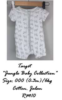 Jumpsuit Target Jungle Baby Collection