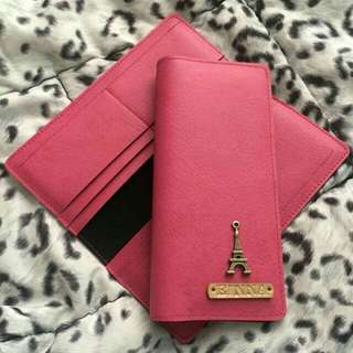 -peRsoNalized- Long Wallet (with 8 card holder)
