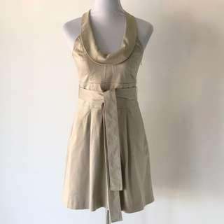 Armani Exchange Dress with Belt Size 6