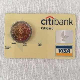 Citibank Commemorative Coin