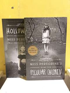Miss peregrine's home for peculiar children: book 1 & 2