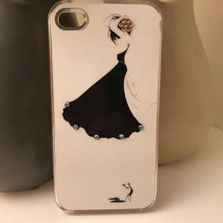 iPhone 5/5S case girl with stones Brand new