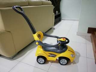 Tricycle Push Car