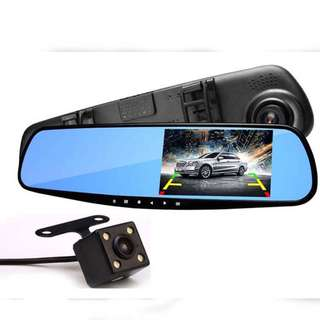 Second Hand 4.3 Inch Car Camera Recorder