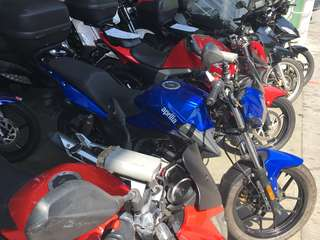 Aprilia stx150 new paintwork (many units to choose from)