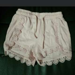 Fox Baby Girl Shorts