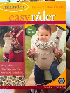 Infantino easy rider Baby Carrier
