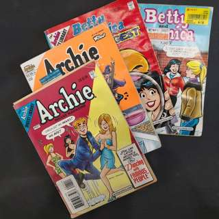 🇺🇸 Imported Archie Magazine x4  (Old)