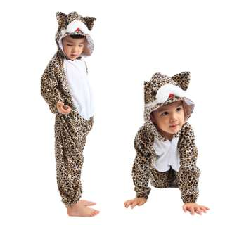 Deluxe Children Catty Hoodie Costume Animal Fairytale Outfit 4-7