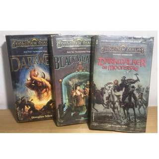 Forgotten Realms Novels - Moonshae Trilogy (3 books) - Old Covers