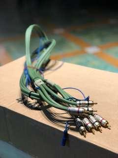 Tchernov RCA cables (1.65m) x 2 unit