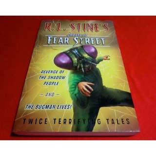 Revenge of the Shadow People / The Bugman Lives by R. L. Stine