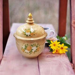 Blossom 28 Ceramic Exquisite French Cup