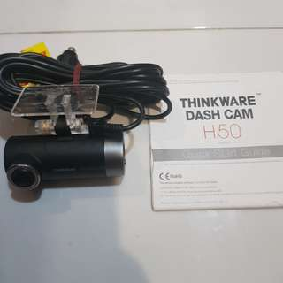 Thinkware H50 single cam recorder
