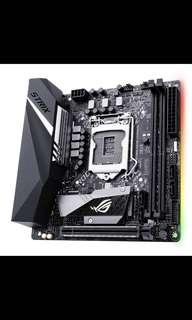 Asus H370i Strix Gaming motherboard