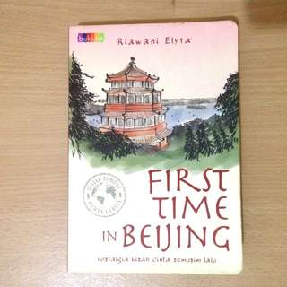 Prelived novel - First Time in Beijing