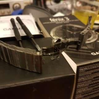 Garmin Fenix 3 Metal Strap
