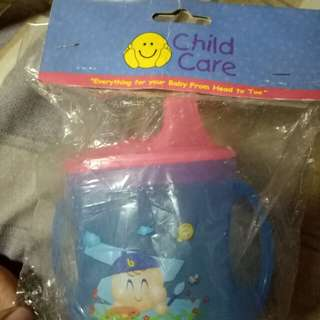 Child Care Baby Training Cup (Blue)