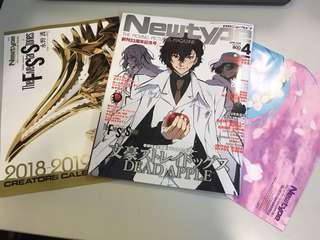 Newtype 2018年4月號 文豪Stray Dogs封面