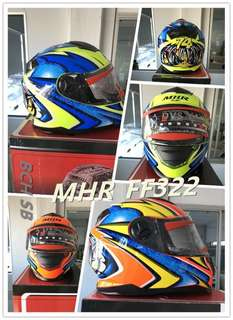 MHR FULL FACE Helmet