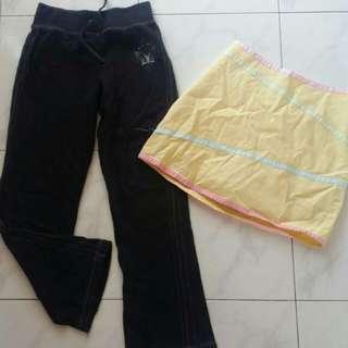 skirt&long pants