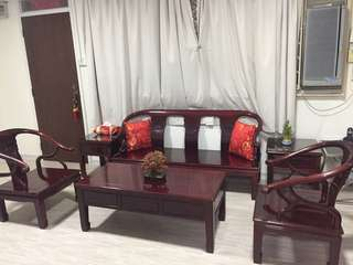 Chinese rosewood furniture set