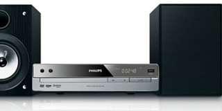 全新飛利浦組合式DVD 超迷你音響Philips MCD120