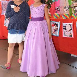 Gown for 7 years old