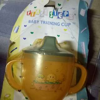 First Step - Baby Training Cup (Orange)