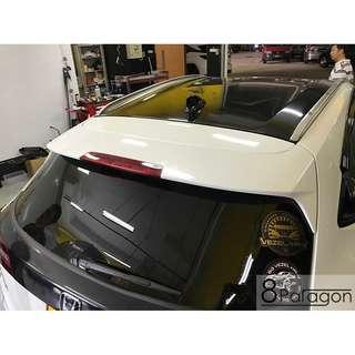 Honda Vezel Rear Spoiler Installation And Spray Painting
