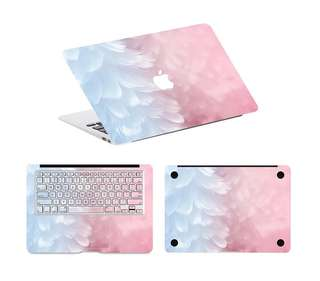 Gradient Feathers Macbook Skin Sticker Decal