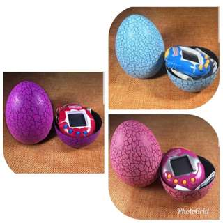 Dinosaur Surprise Egg with 49 in 1 animal Tamagotchi