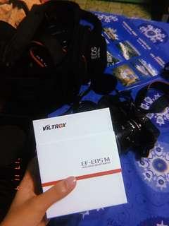 Viltrox EF EOS M AF adaptor