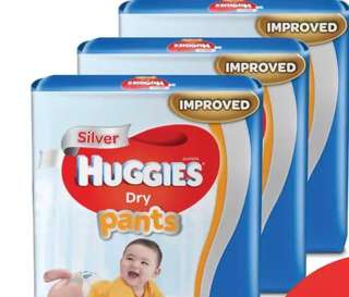 Huggies dry pants