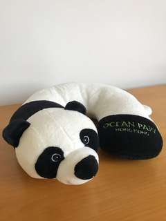 Panda Soft Toy Neck Rest