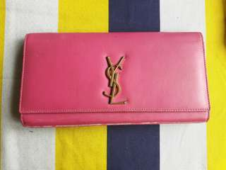 Authntic YSL kate clutch in Hot pink