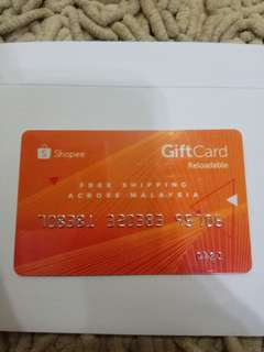 Petronas Reload Gift card