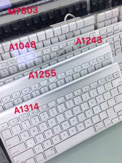 Apple Wired/Wireless Keyboard A1314 A1255 A1243 A1048