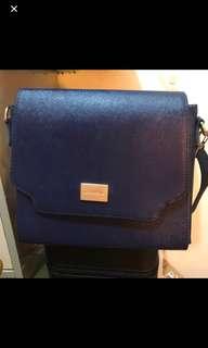 深藍 寶藍色 單肩包 斜挎包