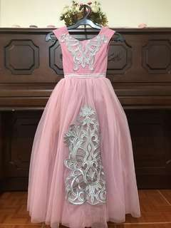 Elegant Pink ball gown
